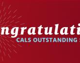 CALS Fall 2018 Outstanding Seniors